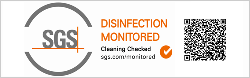 SGS DISINFECTION MONITORRED
